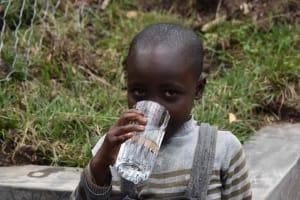 The Water Project: Malimali Community, Onyango Spring -  Thirsty Girl