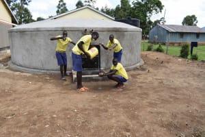 The Water Project: Namushiya Primary School -  Boys Goofing Around