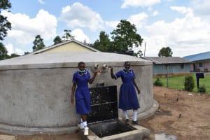 The Water Project: Namushiya Primary School -  Clink