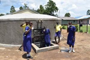 The Water Project: Namushiya Primary School -  Smiles All Around