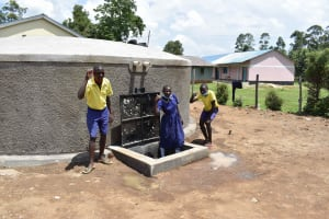 The Water Project: Namushiya Primary School -  Thumbs Up