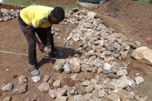 The Water Project: Namushiya Primary School -  Laying Foundation