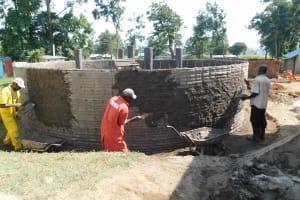 The Water Project: Namushiya Primary School -  Outer Walls