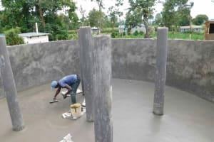 The Water Project: Namushiya Primary School -  Plastering Floor