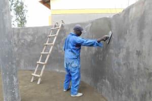The Water Project: Namushiya Primary School -  Plastering