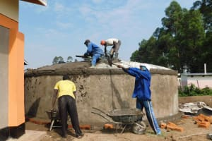 The Water Project: Namushiya Primary School -  Dome Casting