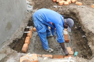 The Water Project: Namushiya Primary School -  Drawing Point Construction