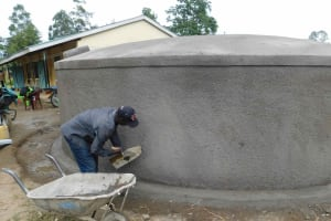 The Water Project: Namushiya Primary School -  Rough Casting