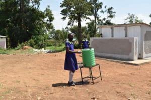 The Water Project: Namushiya Primary School -  Handwashing Station
