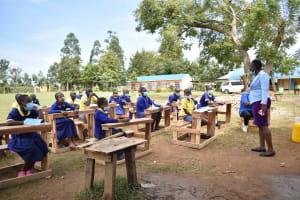The Water Project: Namushiya Primary School -  Attentive