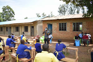 The Water Project: Namushiya Primary School -  Dental Hygiene