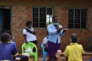 The Water Project: Namushiya Primary School -  Sanitary Pad