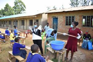 The Water Project: Namushiya Primary School -  Soap Making