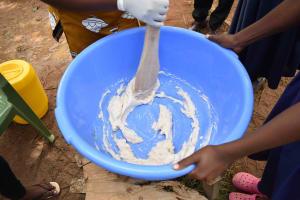 The Water Project: Namushiya Primary School -  Soap Mixing