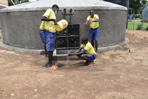 The Water Project: Namushiya Primary School -  Happy Boys