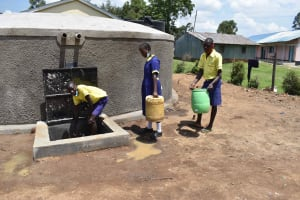 The Water Project: Namushiya Primary School -  Much Easier