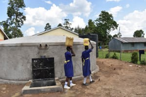 The Water Project: Namushiya Primary School -  So Much Easier