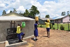 The Water Project: Namushiya Primary School -  Still Heavy But Closer