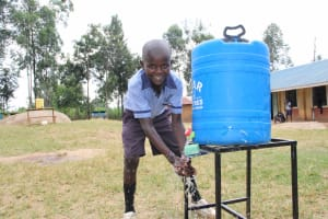 The Water Project: St. Elizabeth Shipala Primary School -  Smiling Boy