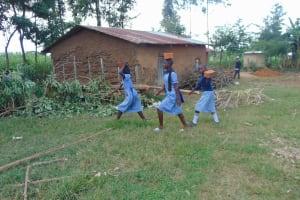 The Water Project: St. Elizabeth Shipala Primary School -  Bringing Bricks