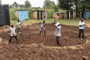 The Water Project: St. Elizabeth Shipala Primary School -  Excavation