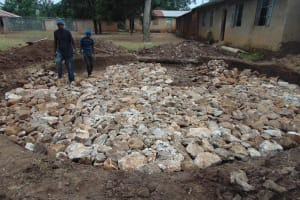 The Water Project: St. Elizabeth Shipala Primary School -  Foundation