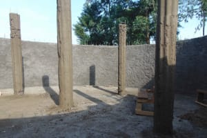The Water Project: St. Elizabeth Shipala Primary School -  Pillar Setting