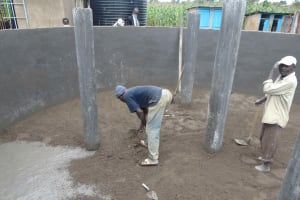 The Water Project: St. Elizabeth Shipala Primary School -  Plastering
