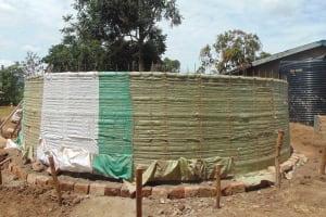 The Water Project: St. Elizabeth Shipala Primary School -  Sugar Sacks On Frame