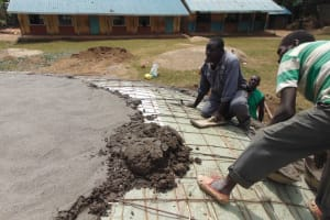 The Water Project: St. Elizabeth Shipala Primary School -  Dome Placement