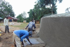 The Water Project: St. Elizabeth Shipala Primary School -  Drawing Point Construction