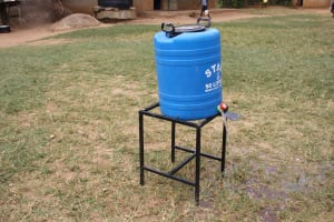 The Water Project: St. Elizabeth Shipala Primary School -  Handwashing Station