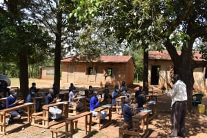 The Water Project: St. Elizabeth Shipala Primary School -  Head Teacher Thanks Everyone