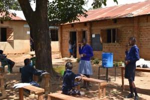 The Water Project: St. Elizabeth Shipala Primary School -  Dental Hygiene