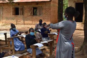 The Water Project: St. Elizabeth Shipala Primary School -  Handwashing