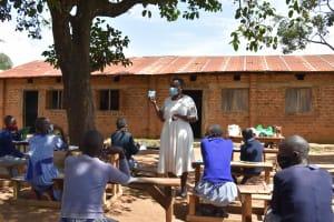 The Water Project: St. Elizabeth Shipala Primary School -  Menstrual Hygiene
