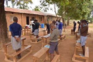 The Water Project: St. Elizabeth Shipala Primary School -  Prayer