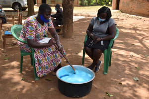 The Water Project: St. Elizabeth Shipala Primary School -  Soap Making