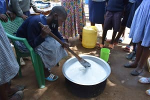 The Water Project: St. Elizabeth Shipala Primary School -  Soap Mixing