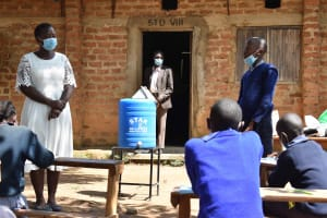 The Water Project: St. Elizabeth Shipala Primary School -  Training