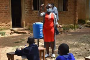 The Water Project: St. Elizabeth Shipala Primary School -  Use Of Soap