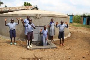 The Water Project: St. Elizabeth Shipala Primary School -  Appreciative Pupils