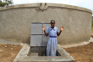 The Water Project: St. Elizabeth Shipala Primary School -  Girl Smiling