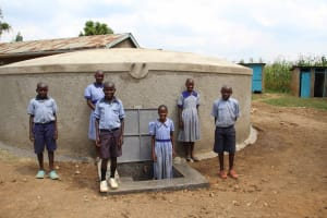 The Water Project: St. Elizabeth Shipala Primary School -  Happy Students
