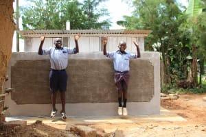 The Water Project: St. Elizabeth Shipala Primary School -  Latrine Celebration