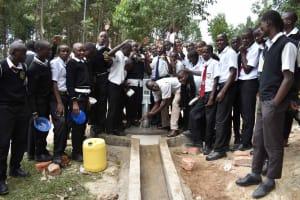 The Water Project: Shamberere Boys' High School -  Joyful Celebration