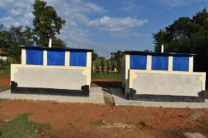 The Water Project: Shamberere Boys' High School -  Complete Latrine
