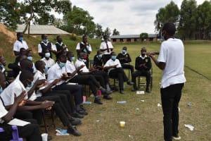 The Water Project: Shamberere Boys' High School -  Handwashing Training
