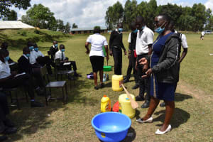 The Water Project: Shamberere Boys' High School -  Soapmaking Introduction