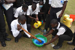 The Water Project: Shamberere Boys' High School -  Soapmaking Process